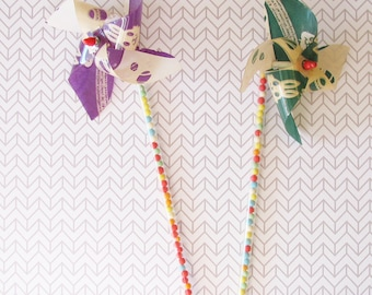 Moving Sale! Vintage New Old Stock Easter Candy Pinwheels