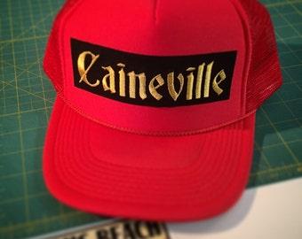 Caineville Utah trucker hat