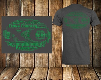 Cross Country T-shirt Design (SVG)