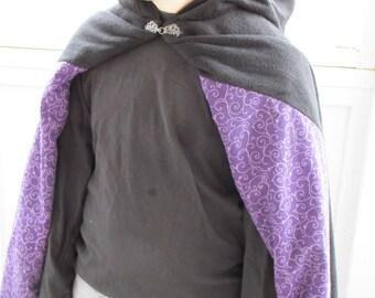 Girls Fleece Cloak size 10/12