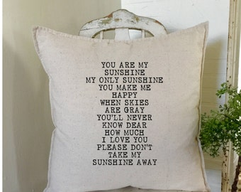 You are my Sunshine   Farmhouse Decor   Cottage Decor  