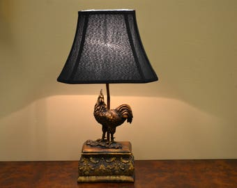 lamps glass lighting of rooster lamp functions warisan photo stained