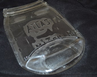 Clear Atlas Mason Jar Spoon Rest Spoonrest