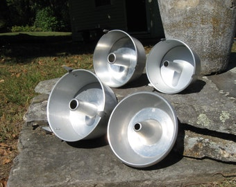 Vintage Metal Bakeware Bundt Pans Sold Individually  Wear-Ever and Angelaire Junior