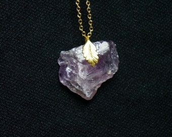 Natural Amethyst Necklace TEXAS INSPIRED
