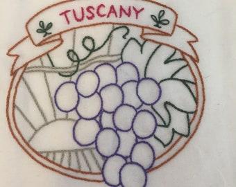 Wine country - tuscany