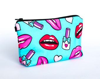 Pencil case | Make Up Bag | Zipped Pouch | Stationery Bag | Beautiful Bag
