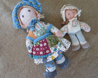 Holly Hobbie and Amy Soft Dolls   Original Knickerbocker   Collectible