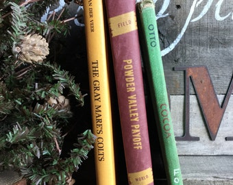 Old Books - Old Children's Books for Horse Lovers FREE SHIPPING