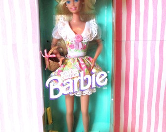 Easter Barbie, Barbie Russell Stover Candies by Mattel 1995 NRFB