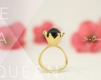 Geflochtene Sterling silber 925 Ring aus unserer neuen Kollektion werden eine Königin #BeaQueen