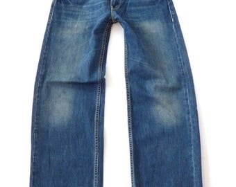 Men's Vintage LEVI'S 509 COMFORT Zip Fly Relaxed Mid Blue Denim Jeans Size W30 - W32 L32