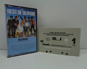 Blondie Best of Blondie Cassette
