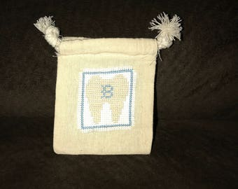 Personalized Tooth Fairy Bags/Pouches
