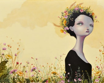 """Limited edition Giclee print """"So long (since I have seen the sun)"""""""