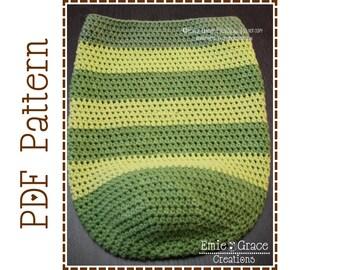Crochet Cocoon Pattern, Egg Nest, SNUGGLE - pdf 701