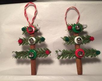 2 - Handmade cinnamon stick ornaments