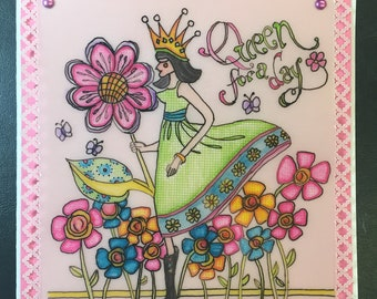 Greeting Card, Any Occasion, Blank Inside