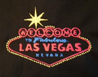 Welcome to Fabulous Las Vegas machine embroidery design