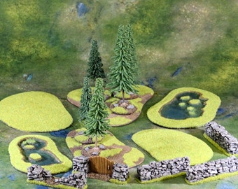 Battlefield Ready Gaming Terrain (11 pieces)