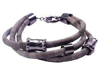 Grey 3 in 1 Bracelet