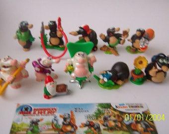 MOLE MISSION Mole Miniatures Fairy garden  Doll house Figures Figurines Terrarium