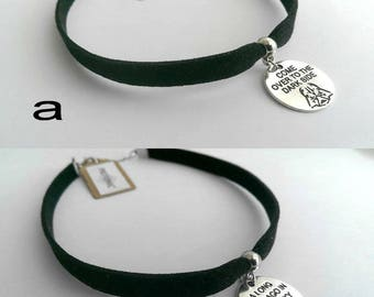 STAR WARS necklace, Star Wars choker, Star Wars jewelry,Darth Vader necklace, Kylo Ren necklace, Rey necklace, star wars gift, star wars fan