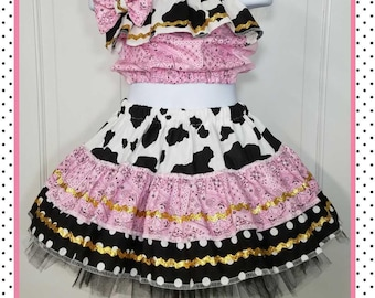 Cowgirl Costume, Western Outfit,  Rodeo Outfit, Cowgirl Birthday, Western Birthday, Semi Glitz Cowgirl, Semi Glitz Western
