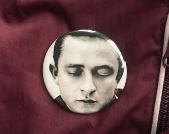 "Johnny Cash 2.25"" Pin (One-Of-A-Kind)"