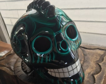 Handpainted Day of the Dead Skull