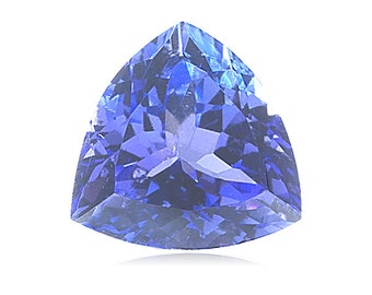 2.55-2.65 Cts of 8.9x8.9x8.9 mm AA+ Trillion Tanzanite ( 1 pc ) Loose Gemstone-376084