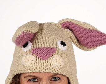 Pet-unique-funny winter hat in bunny