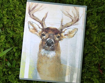 White-tailed Deer Note Card