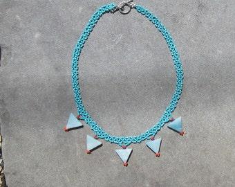 Tanzania beaded necklace
