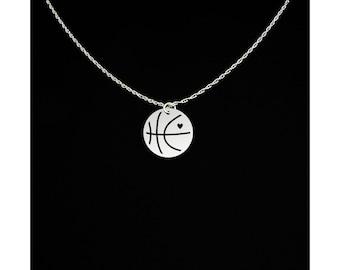 Basketball Necklace - Basketball Jewelry - Basketball Gift