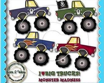 Monster Trucks, Clipart