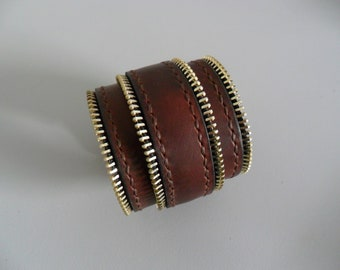 SALE Leather bracelet, leather gift