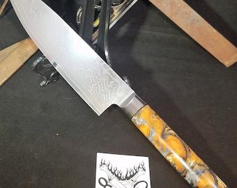 Custom 8 Inch Chef Knife #381