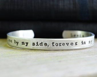 Pet Memorial Bracelet . Pet Memorial Jewelry . In Memory. Cat . Dog . Animal Lovers  - Dogs - Cats - Hand Stamped  - Under 25  - For Her