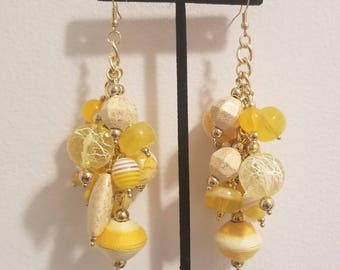 Yellow Bulk Earrings