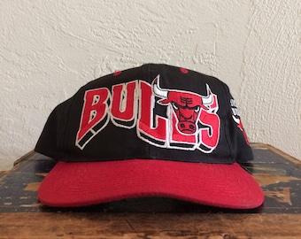 Vintage Chicago Bulls (NBA) Snapbak Hat
