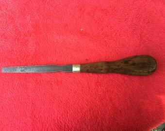 Stanley type Screwdriver. Circa 1890-1910 Beech Handle