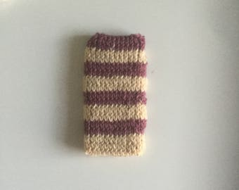 Spring Has Sprung // Knitted Phone Case