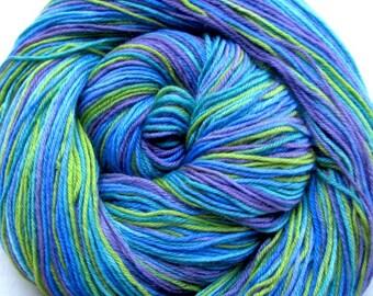 Cashmere Sock Yarn Superwash Merino/Cashmere/Nylon Hand Painted