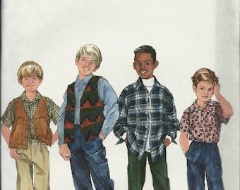 Simplicity 7892        Boys Pants, Shirt and Vest         Size 3,4,5,6     Uncut