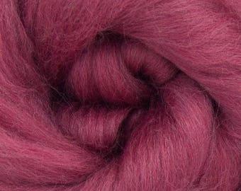 MULBERRY - Merino Wool Roving 1/4oz, 1/2oz or 1oz