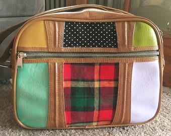 Upcycled Vintage American Tourister Bag