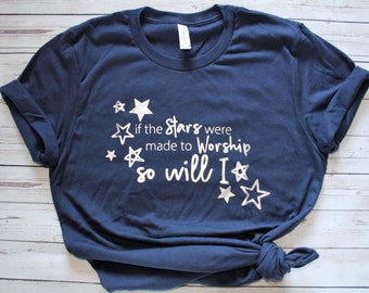 FAST SHIPPING! Women's Made to Worship Christian Shirt
