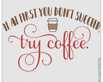 SVG: If at First You Don't Succeed, Try Coffee