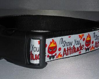 Attitude Dog Collar